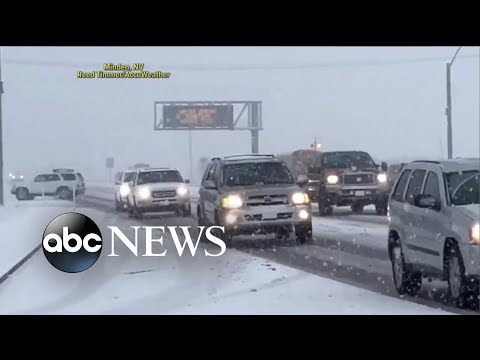 West Coast storm to bring snow to East Coast