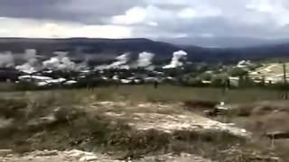 Боевые действия российских РСЗО в Южной Осетии 2008 г
