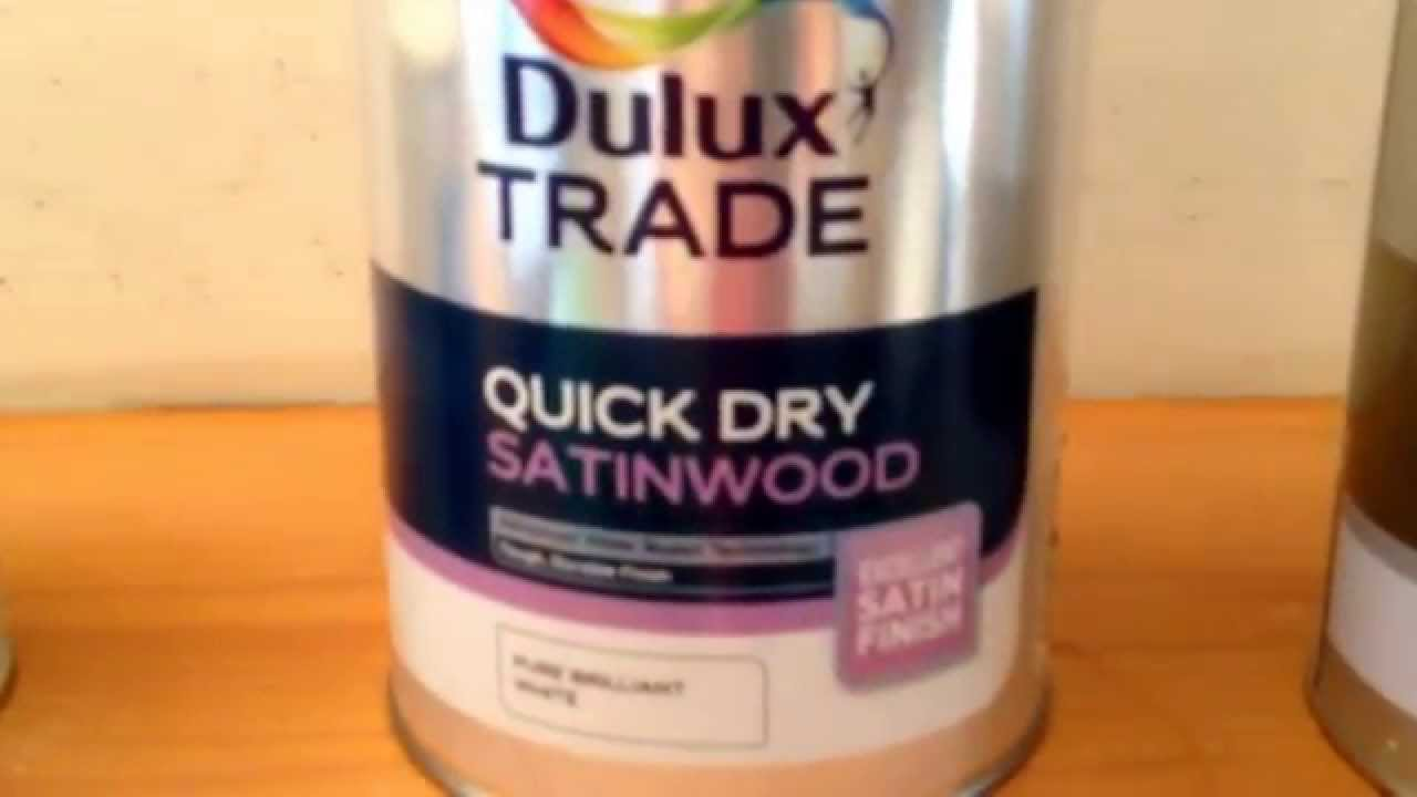 Painting wood fireplace surround quick dry satin wood - YouTube