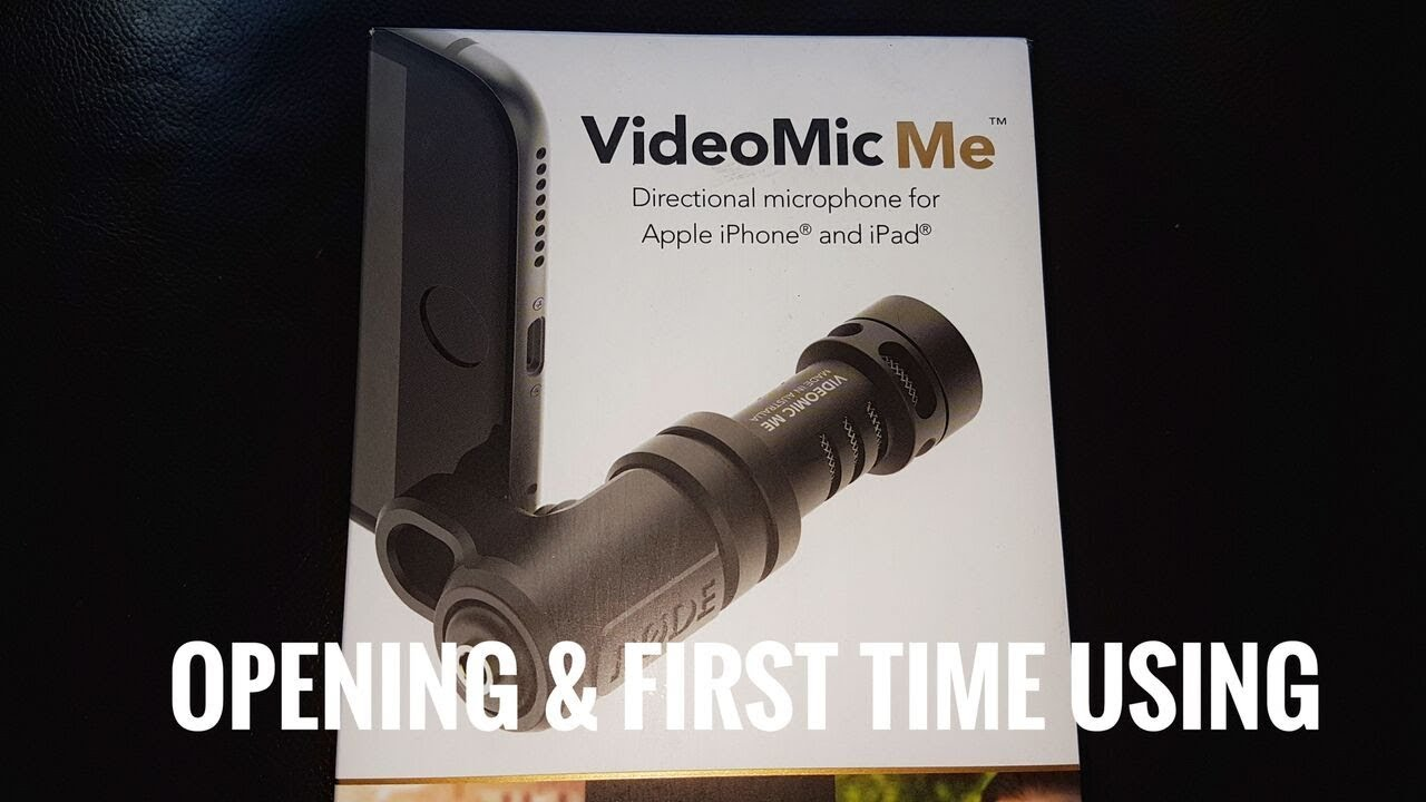 Rode VideoMic Me for Samsung Galaxy phone