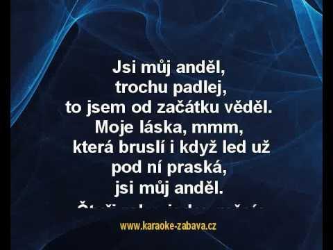 Anděl - Precedens Karaoke tip