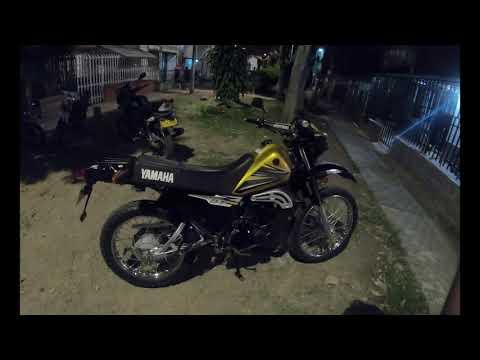 Yamaha DT 125 cc Especial Dorado