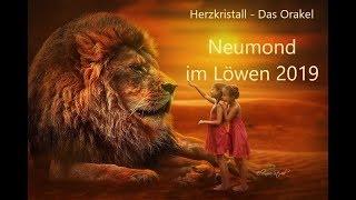 Neumond   Orakel Im Löwen 01.08.2019 –  Urkraft Leben