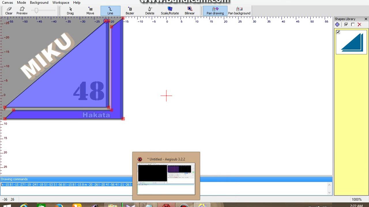 Video Tutorial membuat watermark di Aegisub by Ariansyah Miku