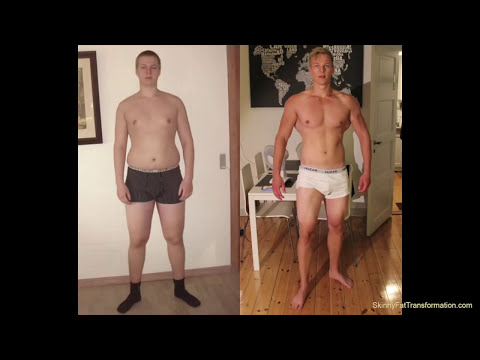SKINNY-FAT TRANSFORMATION (40lbs Muscle Gain and 60lbs Fat Loss)