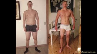 4 Year Skinny-fat Body Transformation (natural)