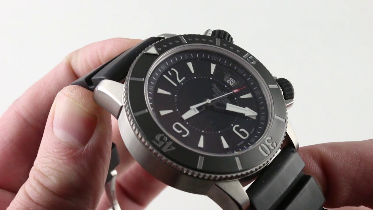 Jaeger LeCoultre Master Compressor Diving Alarm Navy Seals Q183T470 Luxury  Watch Review