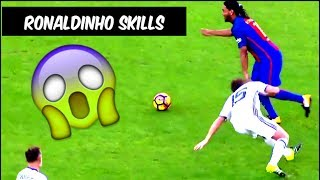 Ronaldinho Skills Vs Manchester United Legends ● 30/06/2017