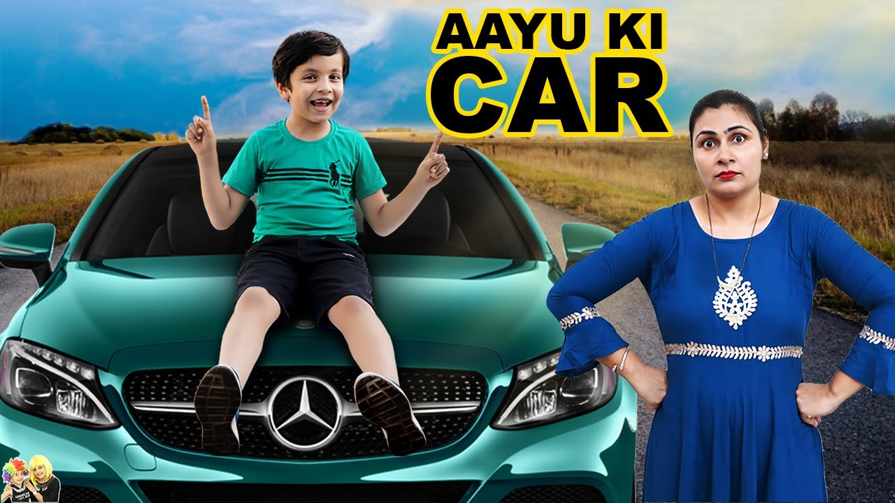 AAYU KI CAR | A Short Movie | Aayu and Pihu Show