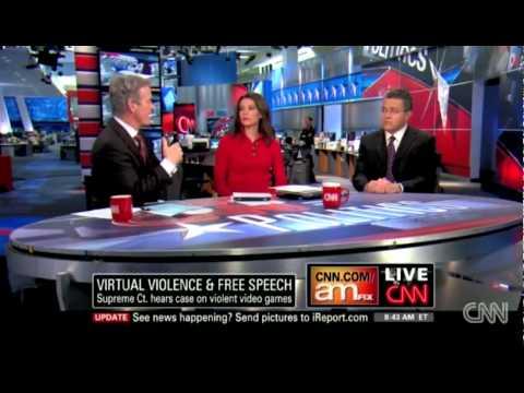 CNN: Adam Sessler on Violent Video Games