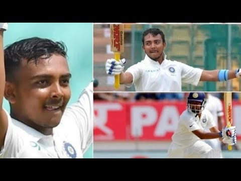 Pakistan Media on India Vs. West Indies Test - Prithvi Shaw