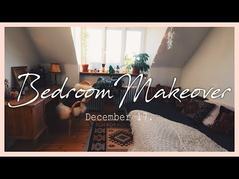 Bohemian bedroom makeover + Room Tour | 17