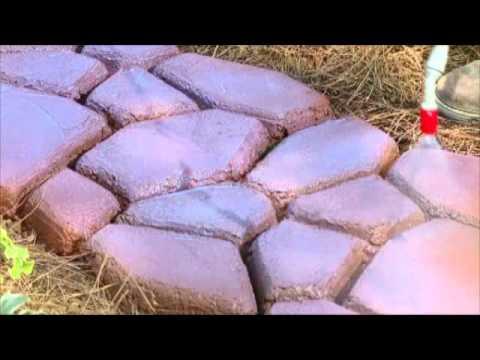 Molde de sendero para jardin moules hormusend caminho for Como colocar adoquines en el jardin