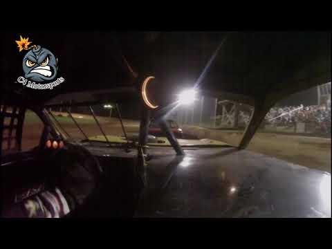 6-30-18 North Alabama Speedway Mini Stock Feature 3R In-car camera