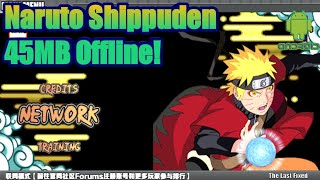 Naruto Shippuden Senki [45MB] Apk download - Android Games