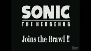 Super Smash Bros. Brawl Nintendo Wii Trailer - Sonic Reveal