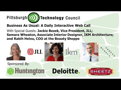 Business as Usual Featuring JLL, IKM Architects, and the Beauty Shoppe