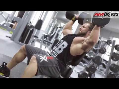 Milan Sadek IFBB Pro Shoulders and Triceps