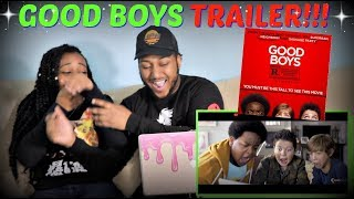"""GOOD BOYS"" Red Band Trailer REACTION!!!"