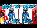How To Draw Fortnite Ice King