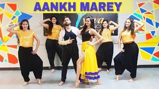 Aankh Marey | Simmba | Ranveer Singh, Sara Ali Khan | Dhruvi Shah Dance Choreography