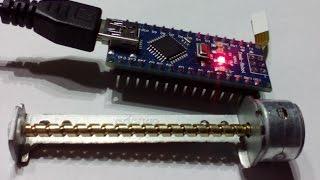 Проект на Arduino: шаговый двигатель CD ROM