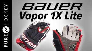 Bauer Vapor 1X Lite Hockey Gloves | Product Review