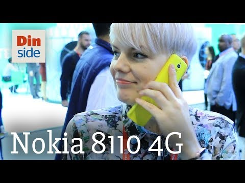 Nokia 8110 4G hands-on
