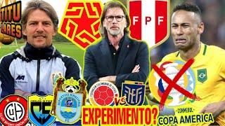 CAMBIOS en el ESQUEMA de PERÚ vs COLOMBIA? | CANCELAN COPA AMERICA en BRASIL? | NUEVO DT BINACIONAL