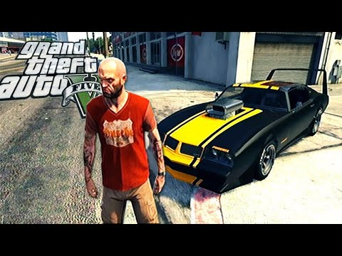 Grand Theft Auto V - Gameplay Showing cars - Franklin, Michael and Trevor (GTA 5)