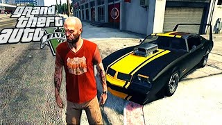 Grand Theft Auto V - Gameplay Showing cars - Franklin, Michael and Trevor - GTA 5