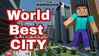 Top City in Minecraft PE || Pocket Edition || By Indian Tech Official