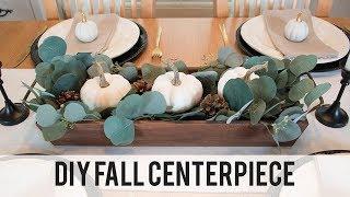 Farmhouse Fall Tablescape and DIY Fall Centerpiece