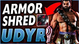 *MAXIMUM ARMOR SHRED* BLACK CLEAVER ON UDYR IS 100% OVERPOWERED - League of Legends