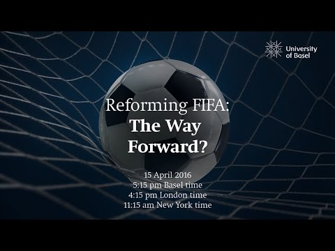 Reforming FIFA: The way forward? Panel Discussion with Joseph S. Blatter and Luis Moreno Ocampo