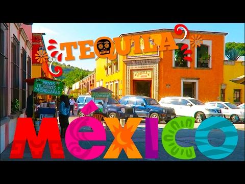 Walking around Tequila (town), Jalisco Mexico