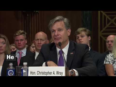 Christopher Wray's confirmation hearing, in 3 minutes