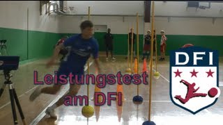 Leistungstest am Deutschen Fußball Internat Bad Aibling