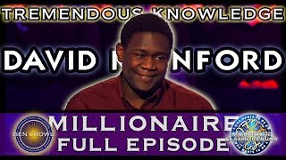 Who Wants to be a Millionaire Classic Reruns David Rainford 9th April 2005 Series 17