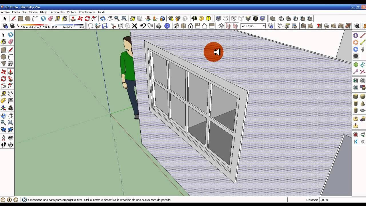 Como insertar ventanas y puertas en google sketchup - Condensacion en las ventanas ...