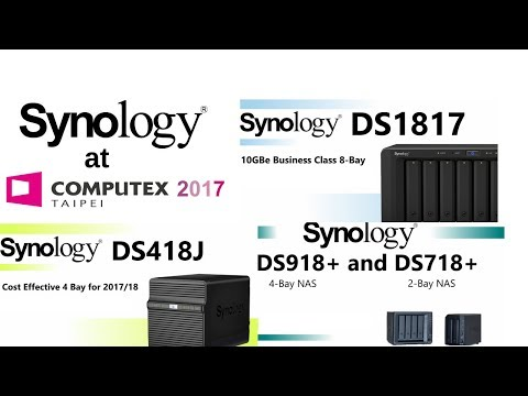 Synology NAS at Computex 2017
