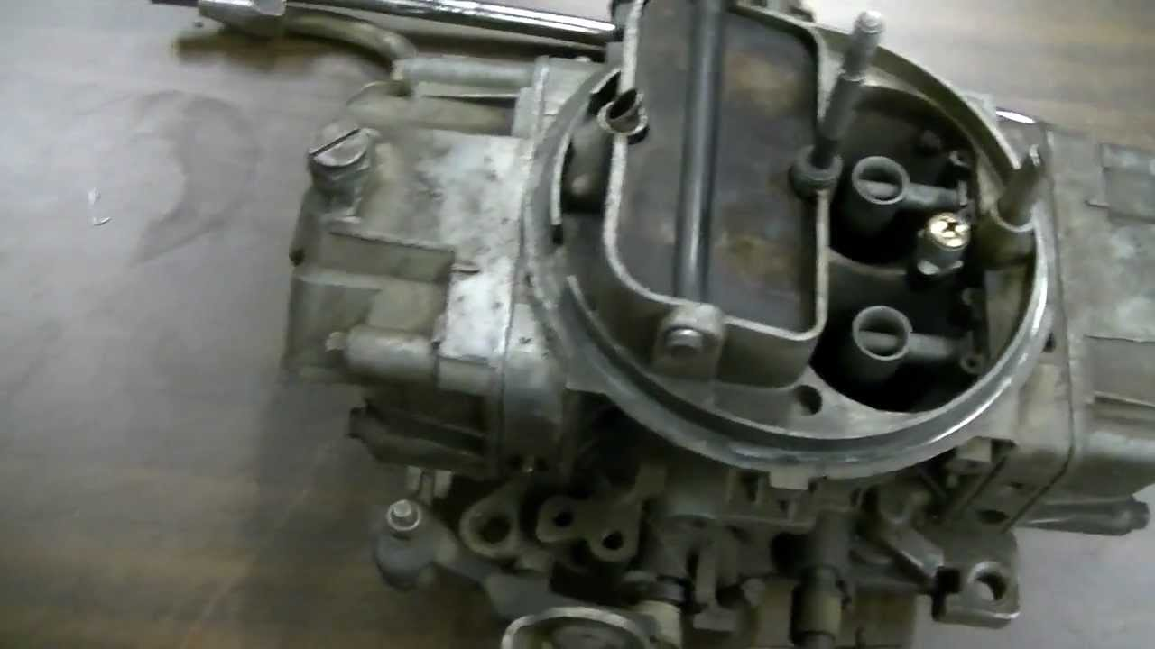holley single guys Looking at a few common holley 4 barrel carburetors in this video and showing some differences.