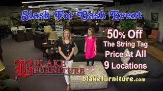 Slash For Cash Event at Blake Furniture! HD