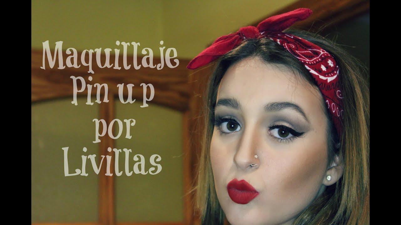 Maquillaje hipster , pin up (carnaval caracterización)