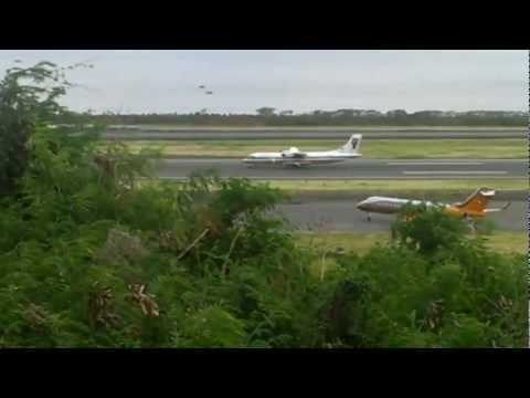 Plane Spotting At STT- Cyril E. King Airport