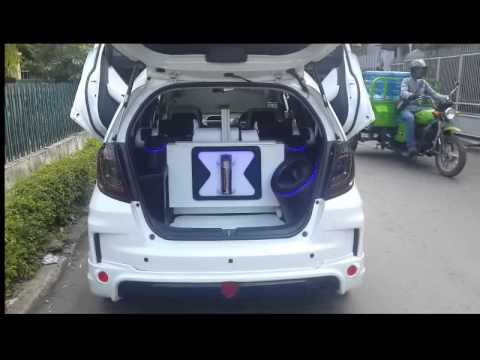 Honda Jazz Modified - YouTube