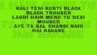 Goli Song-YO YO HONEY SINGH[LYRICS VIDEO]-Varinder Brar| Born this way| Full Song *1080p HD*