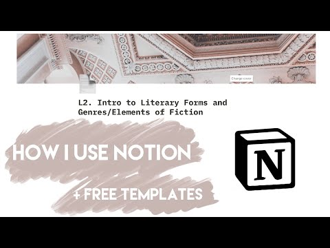 how i use NOTION as a STUDENT in university (+ FREE TEMPLATE)