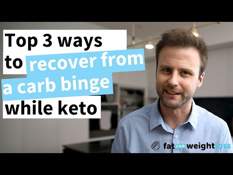 Top 3 ways to QUICKLY recover from a CARB BINGE