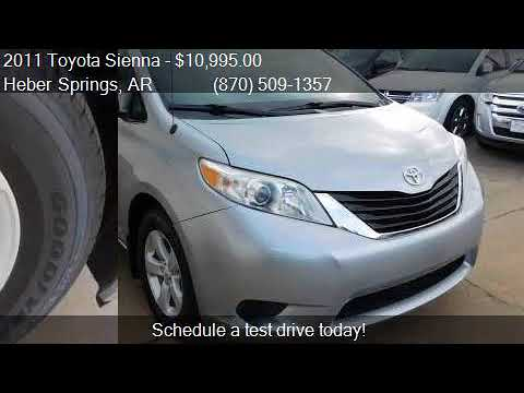2011 toyota sienna for sale in heber springs ar 72543 at p youtube youtube